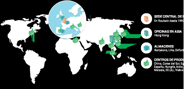 Mapa del Mundo Ellipse